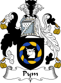English Coat of Arms for Pym