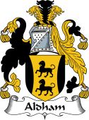 English Coat of Arms for Aldham