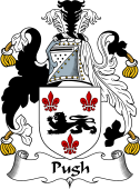 English Coat of Arms for Pugh