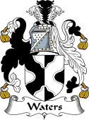English Coat of Arms for Waters I