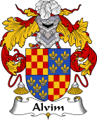 Portuguese Coat of Arms for Alvim