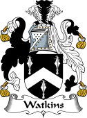 English Coat of Arms for Watkins