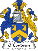 Irish Coat of Arms for O'Condron or Conran