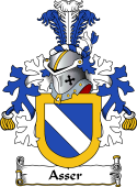 Dutch Coat of Arms for Asser