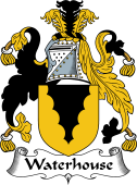 English Coat of Arms for Waterhouse I