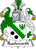 English Coat of Arms for Rushworth
