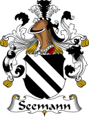 German Coat of Arms for Seemann