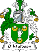 Irish Coat of Arms for O'Muldoon or Meldon