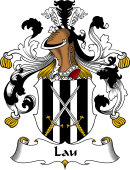 German Wappen Coat of Arms for Lau