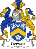 Irish Coat of Arms for Gervais or Jervois