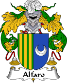 Portuguese Coat of Arms for Alfaro