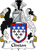 Irish Coat of Arms for Clinton