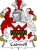 Irish Coat of Arms for Cadwell