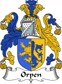 Irish Coat of Arms for Orpen
