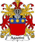 Italian Coat of Arms for Agostini
