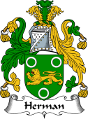 English Coat of Arms for Herman