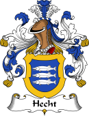 German Coat of Arms for Hecht