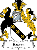 Irish Coat of Arms for Evers