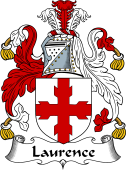 Irish Coat of Arms for Laurence