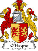 Irish Coat of Arms for O'Heyne or Hynes