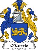 Irish Coat of Arms for O'Currie