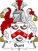 English Coat of Arms for Burt