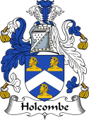 English Coat of Arms for Holcombe
