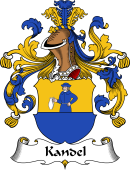 German Wappen Coat of Arms for Kandel