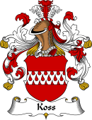 German Wappen Coat of Arms for Koss