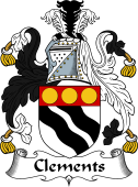 Irish Coat of Arms for Clements