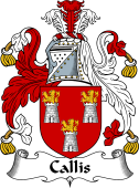 English Coat of Arms for Callis