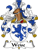 German Wappen Coat of Arms for Weise