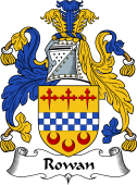 English Coat of Arms for Rowan