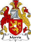 English Coat of Arms for Morris (Wales)