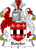 English Coat of Arms for Boteler