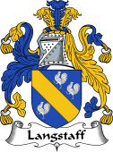 English Coat of Arms for Langstaff