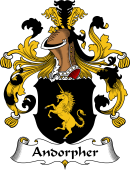 German Wappen Coat of Arms for Andorpher
