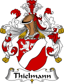 German Wappen Coat of Arms for Thielmann