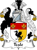 English Coat of Arms for Teale
