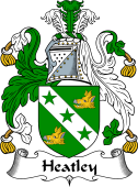 English Coat of Arms for Heatley