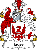 Irish Coat of Arms for Joyce (Galway)