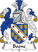 English Coat of Arms for Bohun or Boone