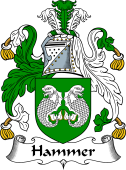 English Coat of Arms for Hammer
