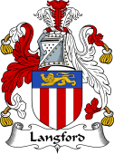 English Coat of Arms for Langford
