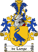 Dutch Coat of Arms for de Lange