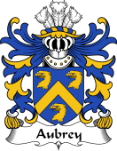 Welsh Coat of Arms for Aubrey (of Breconshire)