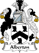 English Coat of Arms for Alberton