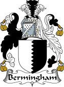 English Coat of Arms for Bermingham