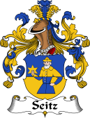 German Coat of Arms for Seitz