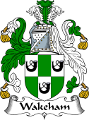 English Coat of Arms for Wakeham